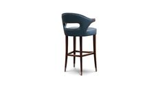 NANOOK Bar Chair Mid Century Design by BRABBU revives the strength of the Bears bringing it into the modern home decor.