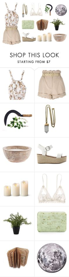 """""""[ light magic ]"""" by tinytem ❤ liked on Polyvore featuring Moschino, Lacey Ryan, Steve Madden, Improvements, Hanky Panky, Lloyd & Hannah, Pré de Provence and Seletti"""