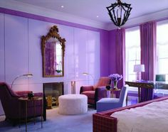 ♥ not sure of the chandelier but I love the color scheme.