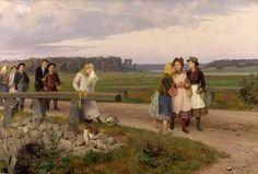 Malmström, August (b,1829)- Teasing -2b