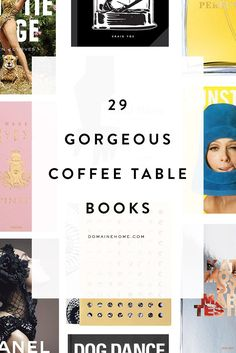 Good Coffee Table Books Coffee Table Books Coffee Tables And Coffee On Pinterest