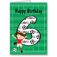 Shop Birthday Party Red and White Soccer Girl Invitation created by CelebrationBazaar. Personalize it with photos & text or purchase as is! Soccer Birthday Parties, Birthday Goals, Football Birthday, 5th Birthday, Birthday Ideas, Soccer Party, Invitation Paper, Custom Invitations, Invites