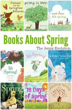 Spring Has Sprung! Picture Books About Spring | The Jenny Evolution
