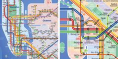 Designing a better subway map Subway Map, Map Design, Bergen, Public Transport, Transportation, Nyc, Island, Maps, Travel