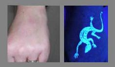 I decided years ago that if I ever got a tattoo that it would be a blacklight tattoo...because then you can't see it all the time.