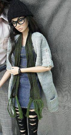 Fashion doll art