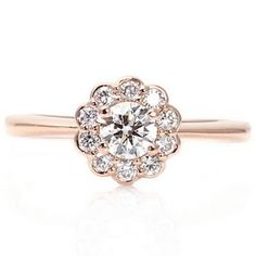 50 Eye-Catching (And Original!) Engagement Rings We Found on Etsy : Lucky Magazine