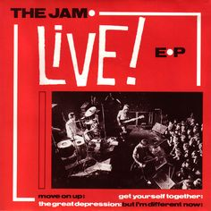 45cat - The Jam - Live! EP - Polydor - UK