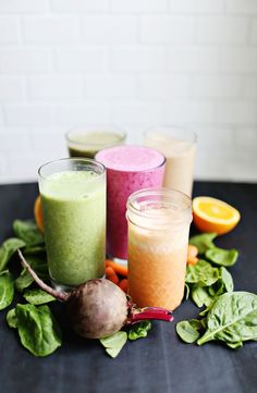 5 veggie-based breakfast smoothies f * food style диета, рец Healthy Recipe Videos, Healthy Recipes, Healthy Foods To Eat, Diet Recipes, Healthy Snacks, Healthy Eating, Brunch Recipes, Flour Recipes, Healthy Muffins