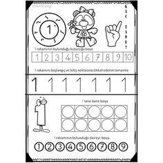 Numbers Preschool, Preschool Math, Math Activities, Kindergarten Prep, Kindergarten Worksheets, Math For Kids, Fun Math, 9 And 10, Fairy Tales