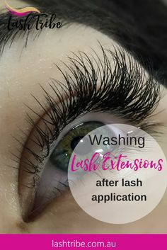 In this blog post I will explain to you why you should be washing your clients eyelash extensions after the procedure.