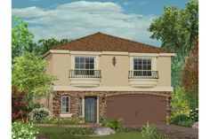 Highlands Collection built by American West Homes in Las Vegas, Nevada offers new home designs ranging from to square feet with up to five bedrooms. New Housing Developments, West Home, Highlands Ranch, New Home Designs, Square Feet, Las Vegas, Shed, New Homes, Outdoor Structures