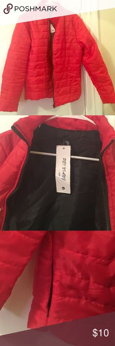 ⛄️Winter Jacket☃ New jacket with Tag. It says XL on it but I think it's a medium because it would be tight to be an XL Jackets & Coats