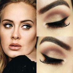 A cantora Adele é conhecida pelas músicas que sempre são hit e também pela maquiagem impecável. Veja esse tutorial e aprenda a fazer o make dessa diva da música.