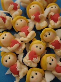 fimo clay cupid - Google Search