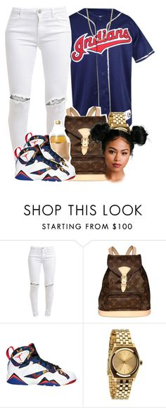 """3/3/16"" by clickk-mee ❤ liked on Polyvore featuring FiveUnits, Louis Vuitton, Stampd and Nixon"
