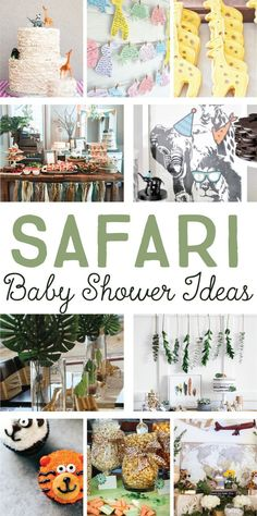 Safari Baby Shower I