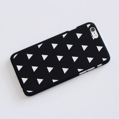 { iPhone 6/6s } | Triangle Phone Case ➳ Item Description: This is a tumblr aesthetic vibe phone case with geometric triangles. It has a matte feel to it. It does NOT cover the front fully. ➳ Item Details: Color: Black Compatibility: iPhone 6/6s Available: 2 The price is firm, but will be discounted through bundles. Please consider that the colors you see on your device will probably not look the same in person! This is ONLY the case. It does not come with a phone. ♡ Accessories Phone Cases