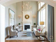 Amanda Carol Interiors | Clients Reading Room Before and After | http://blog.amandacarolinteriors.com