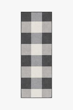 Bring charm to your decor with our classic Buffalo Plaid Black and White Rug. Featuring a checkered, Buffalo plaid design, this rug complements an array of colors, themes, and decorative elements effortlessly. Black And White Furniture, Black White Rug, Washable Area Rugs, Machine Washable Rugs, Coral Rug, Buffalo Plaid, Colorful Rugs, Kitchen Reno, Kitchen Cupboard