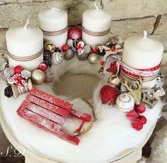 Christmas Advent Wreath, Winter Christmas, Christmas Home, Christmas Crafts, Christmas Centerpieces, Xmas Decorations, Advent Candles, Christmas Inspiration, Facebook