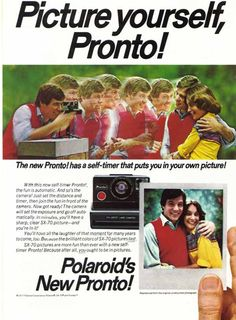 Awesome Vintage Polaroid Ads