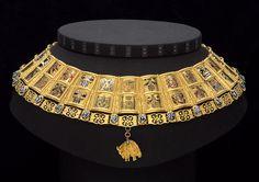 Die Potence (Wappenkette) für den Herold des Ordens vom Goldenen Vlies