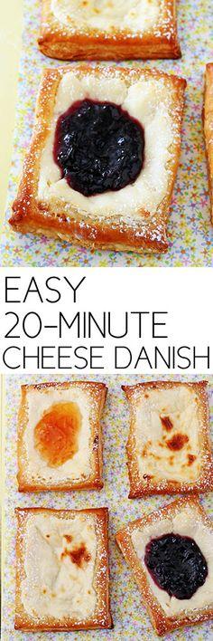 Easy 20-Minute Cheese Danish