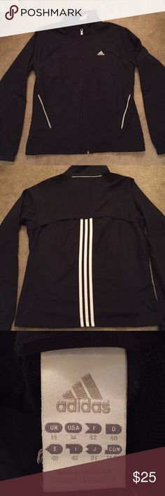 Women's Adidas Track Top Normal wear  Comfy fitting Used as a rain jacket for light drizzle adidas Jackets & Coats