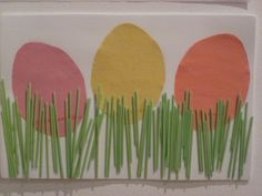 Gummy Lump Toys Blog: Easter Eggs Hiding in the Grass: Spring & Easter Preschool Crafts for Kids Project #63