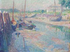 Hendrik Jan Wolter (Amsterdam 1873-1952 Amersfoort) | Ebbe II, Veere | Paintings, painted | Christie's