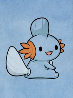 Pokemon - Mudkip by ~beyx on deviantart