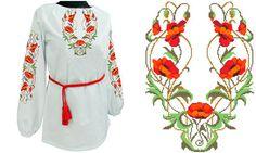 Заготовка для сорочки БЖ-18, Чарівна Лелека, Вышиванки женские, Вышиванки | интернет-магазин вышивки Stitch World