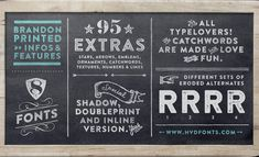 3 Typography Trends for 2016 (With Examples)