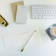 fancy and functional desk accessories | Smitten on Paper