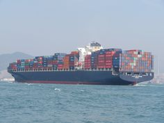 https://flic.kr/p/ESVgKq | lloyd don giovanni | type: container ship shipyard: hyundai samho heavy industries year build: 2006 IMO: 9305506 hull no. S261 engine: B&W 12K98MC power output: 69620kw speed: 25,3 kn length: 335m beam: 42,80m draught: 14,50m 8204TEU container capacity at 14t: 6180TEU reefer container: 700TEU gross tonnage: 91649 ton dead weight: 107898 ton