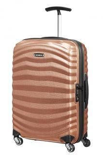Handgepäckskoffer Lite-Shock Kupfer Samsonite 55 cm metallic - Bags & more Suitcase, Metallic Bags, Partition Screen, The Last Song, Copper, Suitcases