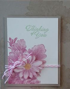 Hello there! Here's another card we made at Card Buffet last week featuring the Heartfelt Blooms set, which is a Sale-A-Bration product th...