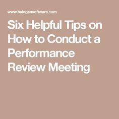 reflective statement from performance review meeting Open document below is an essay on reflective text post performance appraisal meeting from anti essays, your source for research papers, essays, and term paper examples.