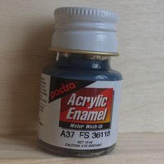 Pactra ACRYLIC PAINT - Gunship gray (A37) for model-making and craft. by AllScalesModels on Etsy Gray, Model, How To Make, Crafts, Painting, Vintage, Manualidades, Grey