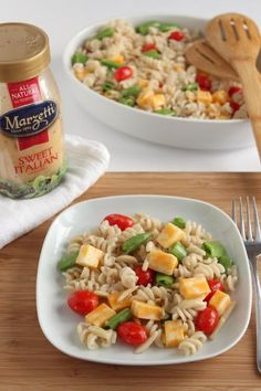 Marzetti Italian Pasta Salad by make and takes