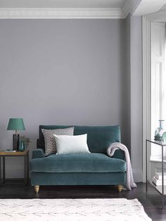 This green velvet sofa turns into a sofabed, to provide your guests with the perfect night's sleep. The velvet sofabed is a loveseat, meaning it is larger than an armchair, but smaller than a 2 seat sofa, making it perfect for rooms with limited space. Loveseat Sofa Bed, Recliner, Sofas For Small Spaces, Small Sofa, Snug Room, Green Velvet Sofa, Beautiful Sofas, Studio Apartment Decorating, Guest Bed