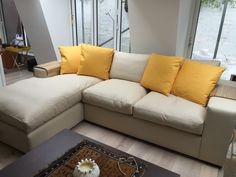 Bespoke Sherwood chaise sofa bed in Muirhead leathers, measuring 183 cm x 254 cm (including the 24 cm arms on each side).