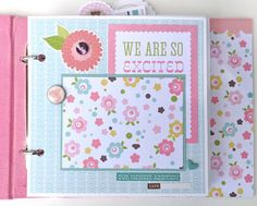 Artsy Albums Scrapbooking Kits and Custom Designed Scrapbook Albums by Traci Penrod: Echo Park's Bundle of Joy...so Sweet