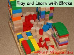 Play and Learn with Blocks