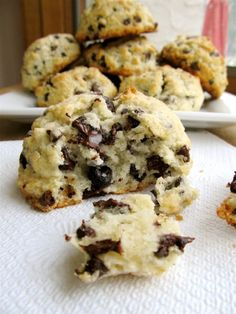 Chocolate Chip Scones for breakfast... Yes please!