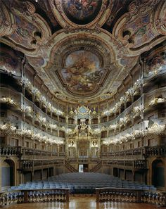 Margravial Opera House in Bayreuth, Germany by Photographer David Leventi