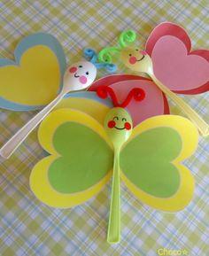 Lembrancinhas para comemorar a chegada da Ma Back to School Crafts Paper Crafts For Kids, Easter Crafts, Fun Crafts, Art Activities For Kids, Art For Kids, Toddler Crafts, Preschool Crafts, Spring Crafts, Holiday Crafts