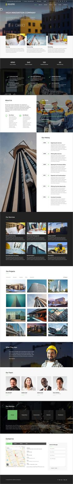 BuildPro is a wonderful responsive #Bootstrap #HTML5 template for #webdev #construction and building company website with 12+ stunning homepage layouts download now➩ https://themeforest.net/item/buildpro-construction-and-building-website-template/16555797?ref=Datasata