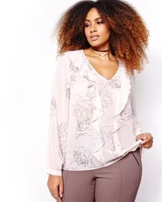 Addition Elle, Look Here, Printed, Studio, Sleeves, Shopping, Tops, Shell Tops, Studios